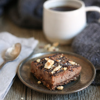 Chocolate hazelnut bars (gluten-free, grain-free, vegan, raw, paleo), or a tale of two Passovers.