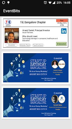 EventBits - tech event info