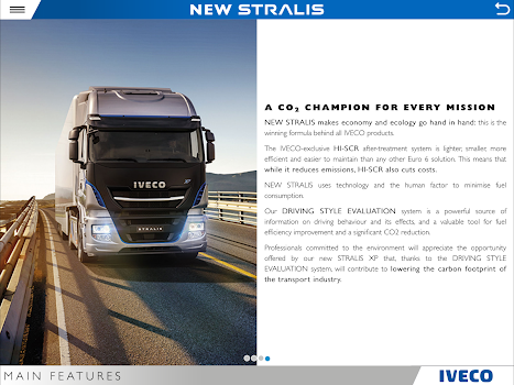 IVECO NEW STRALIS tablet