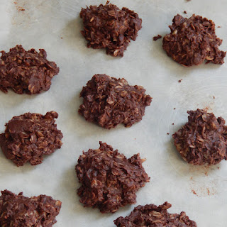 Healthy No Bake Cookies.