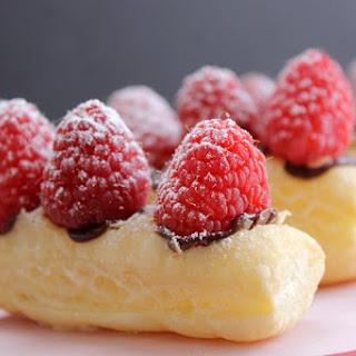 Chocolate Raspberry Tarts.