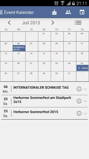 Event Calendar for Facebook