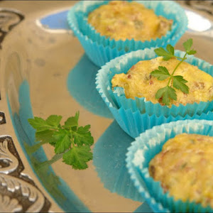 Muffins of Sausage and Mushrooms