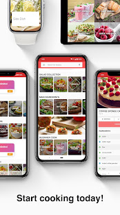 Diabetic Recipes app - náhled