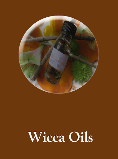Wicca oils screenshot 1