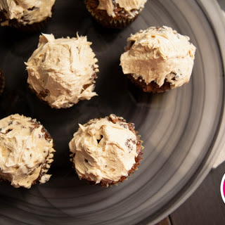 Banana Carrot Paleo Muffins with Maple-Cinnamon Frosting