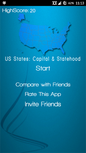 US States: Capital n Statehood
