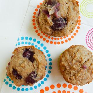 Sugar Free Breakfast Cherry Muffins