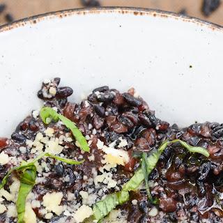 Black Rice Risotto.