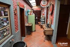 窄巷古厝咖啡室內環境