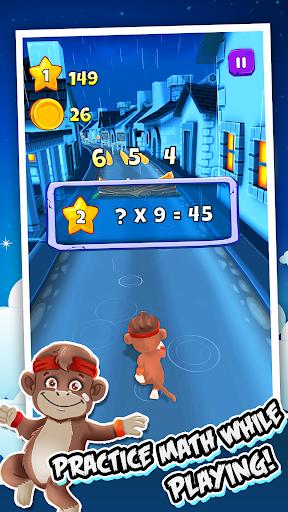 Toon Math: Endless Run and Math Games apkpoly screenshots 2