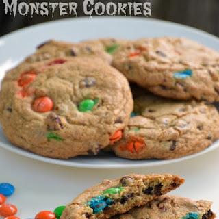 Easy Gluten-Free Monster Cookies.