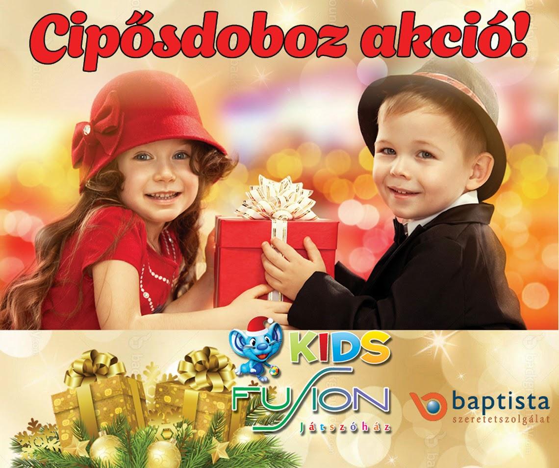Cipősdoboz karácsonyi akció 2017