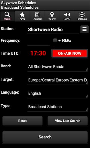 Skywave Schedules screenshot 1