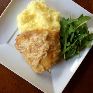 Chicken with Shallot Cream Sauce