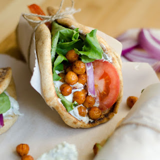 Roasted Chickpea Gyros Recipe