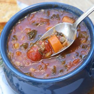 Truffled Lentil Veggie Stew