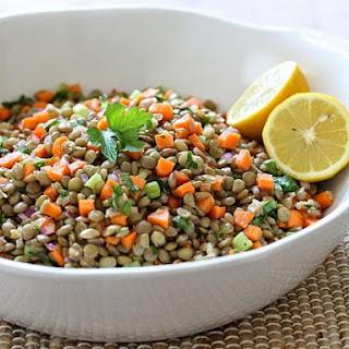 Lentil Salad.