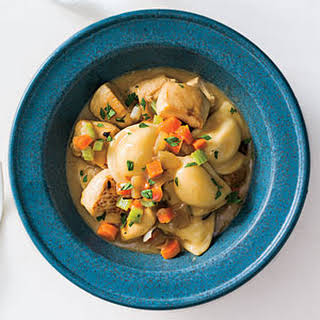 Chicken and Pierogi Dumplings.