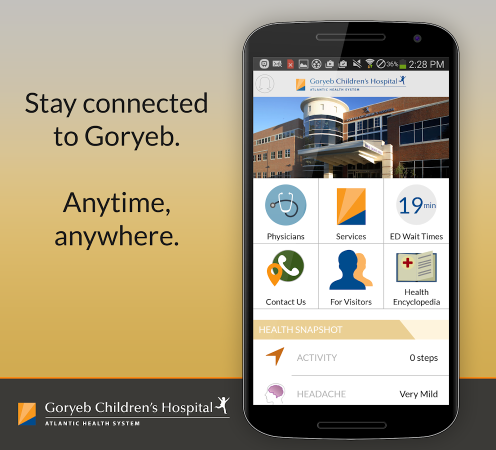 Be Well-Goryeb Children's Hosp- screenshot