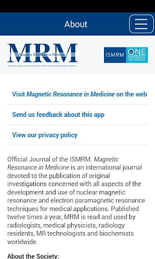 Magnetic Resonance in Medicine