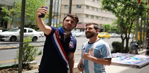 Selfie camera with Messi Photo Frames & stickers for PC