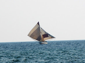 Photo: Lake Malawi - sailing boat
