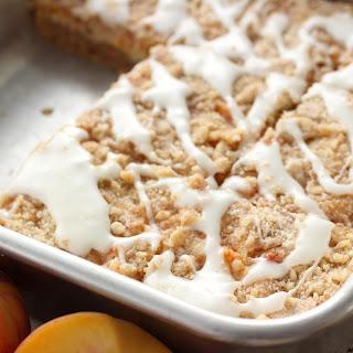 Peaches and Cream Cheese Coffee Cake.