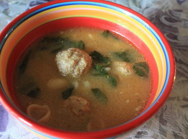 Italian Meatball Soup (crock Pot) Recipe