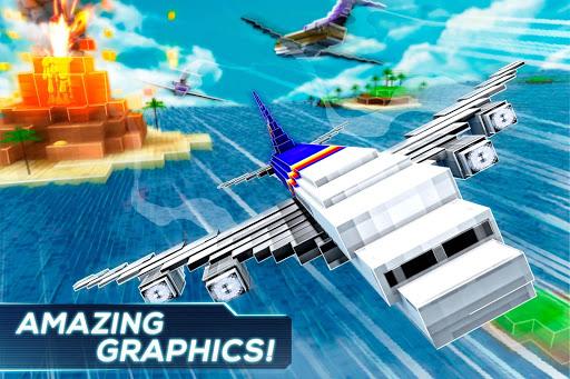 Mine Passengers: Plane Simulator - Aircraft Game 3.4.3 screenshots 2
