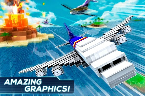 Mine Passengers: Plane Simulator - Aircraft Game - náhled