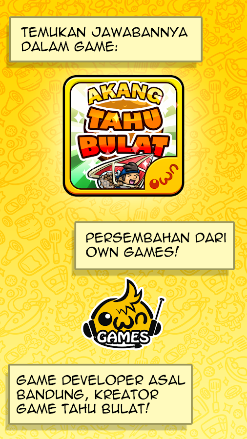 Akang Tahu Bulat- screenshot