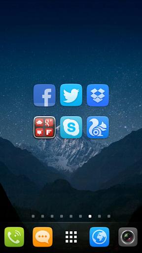GO Launcher EX UI5.0 theme screenshot 4