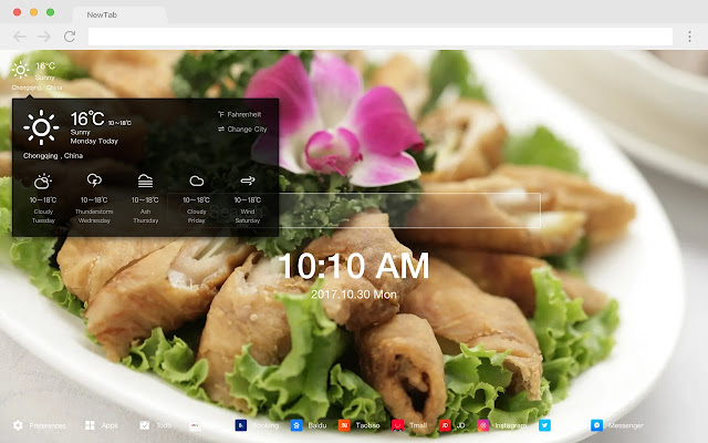 Chinese New Tabs HD Wallpapers Foods Themes