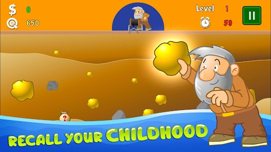 Gold Miner Classic: Gold Rush – Mine Mining Games 3