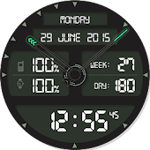 SNIPER Digital Watch Face