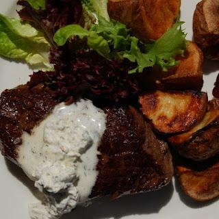 Sous Vide Grass-Fed Top Sirloin Steak.
