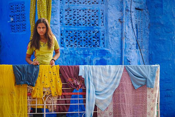 Blue Portrait di Pino Cappellano