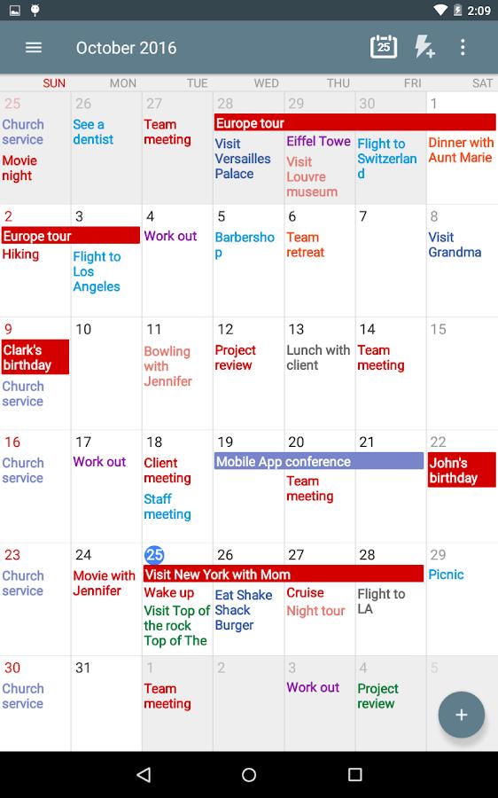 Calendar Planner Scheduling Apk : Calendar schedule planner android apps on google play