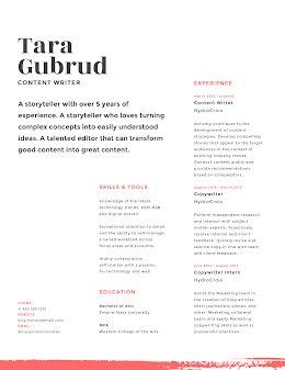 Tara E. Gubrud - Resume item