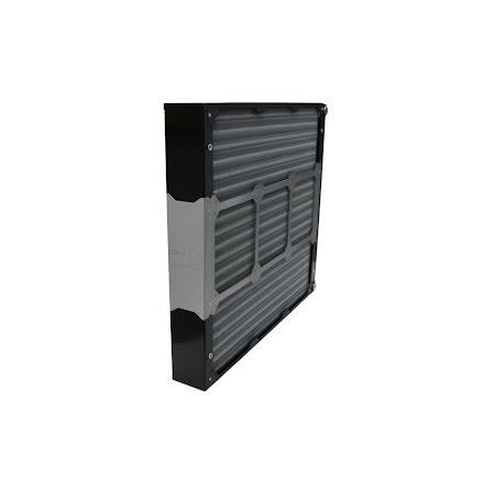 Watercool radiator, MO-RA3 9x140 PRO black, 9x140-65