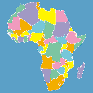 Africa map puzzle android apps on google play africa map puzzle gumiabroncs Images