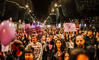 Manifestación por el Día de la Mujer 2019