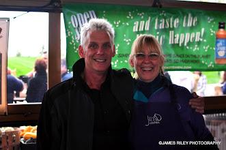 Photo: Peter Florance and Jill Padua