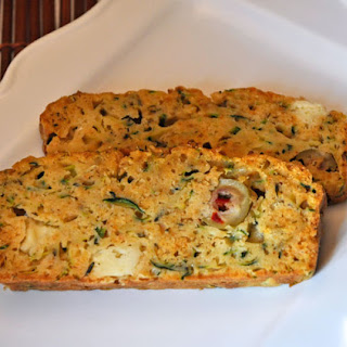 Cheese and Olive Zucchini Bread Recipe