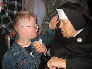 Photo: Sestrička Bernadeta bola veľkou apoštolkou zeleného škapuliara.