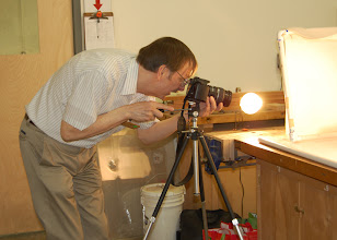 Photo: Gary Guenther steps on short notice to photograph the show and tell items.  Thanks Gary!