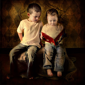 Brothers by Sarah Laurel - Digital Art People