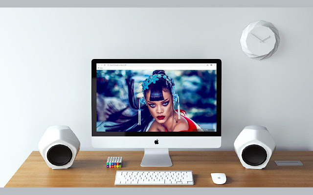 Rihanna New Tab & Wallpapers Collection