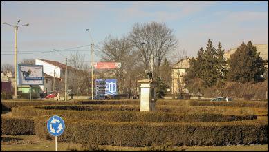 Photo: Turda - Piața Romană - Statuia Lupa Capitolina - monument istoric  - 2019.02.25